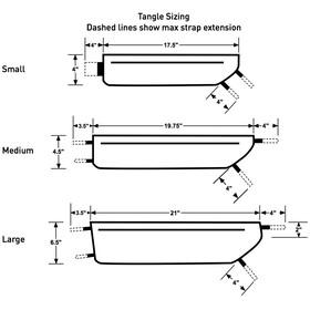 Revelate Designs Tangle Cykeltaske S, black